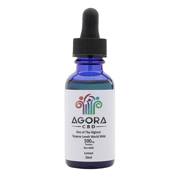 Oil 1oz bottled with dropper 500 mg